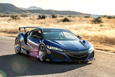 "2017 Acura NSX ""Dream Project"" by ScienceofSpeed debuting at the SEMA Show"