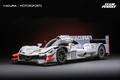 Acura ARX-05 Daytona Prototype Race Car on display at the 2017 SEMA Show