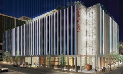 An artist's rendering of The Bricks, A Trademark Collection Hotel scheduled to open in downtown Los Angeles in Q4 2018