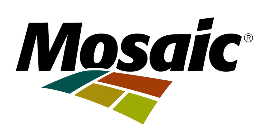 The Mosaic Company logo. (PRNewsFoto/THE MOSAIC CO)