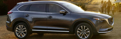 Hall Mazda compares the 2018 CX-9 to a couple top competitors, showing SUV shoppers why the CX-9 might be the better choice.