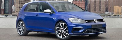 The 2018 Golf R is the most powerful version of the Golf Family to be sold in North America. Spitzer Volkswagen customers also have the option of looking at the new model of the base Golf model at the dealership's showroom.