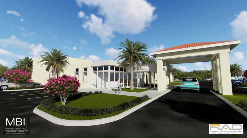 5300 square foot RAD PRO System at Flagler Hospital in St. Augustine, Florida.