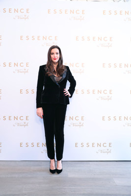 Liv Tyler, Leading Lady globally for ESSENCE, at the luxury lingerie collection's brand conference in Shanghai