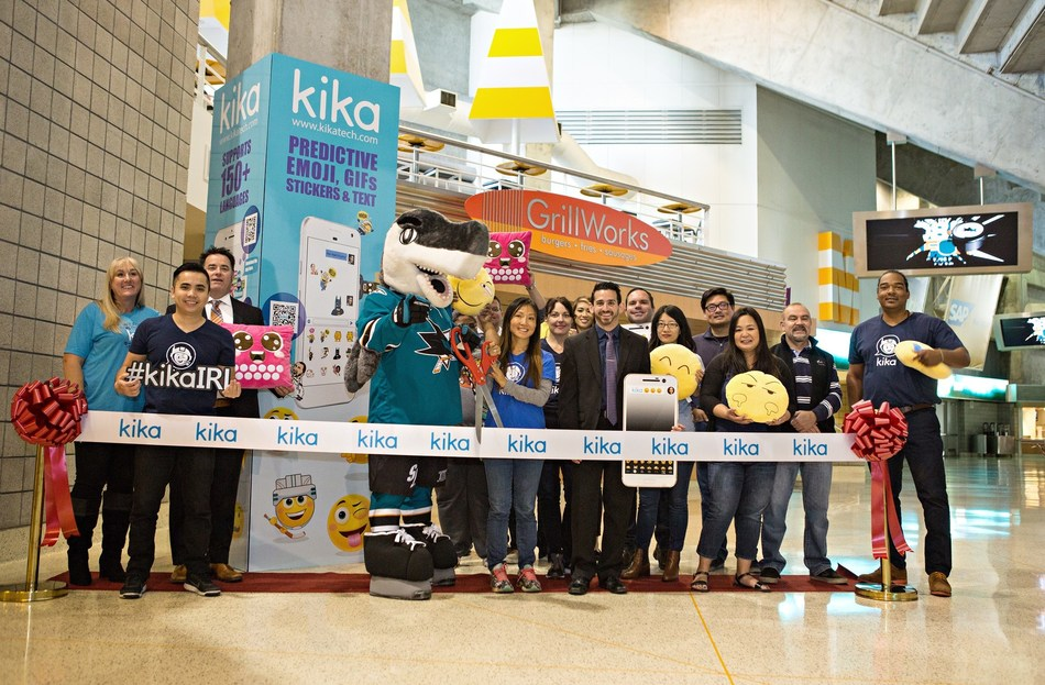 Kika Tech, a leader in mobile AI-based communication products partners with the San Jose Sharks.
