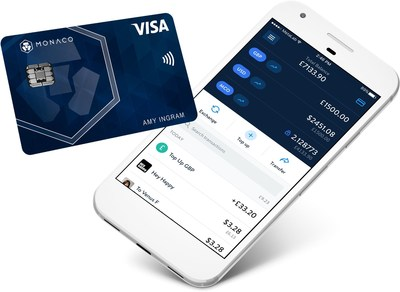 """Kris Marszalek, Co-Founder and CEO of Monaco said, """"This card program is the first of its kind in the industry."""" The Monaco card operates on the worldwide Visa® network and can be used anywhere that Visa® is accepted. (PRNewsfoto/Monaco)"""
