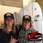Lick the Plate on 93.9 The River Celebrates Great Lakes Surfing & Food with Ella and Beryl Skrocki from Sleeping Bear Surf & Kayak in Empire, MI