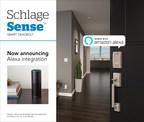 Schlage Announces Amazon Alexa Integration for its Schlage Sense™ Smart Deadbolt