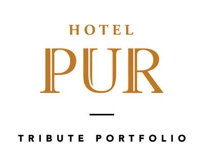 Logo : Hotel Pur Québec, a Tribute Portfolio Hotel (Groupe CNW/Hotel Pur Québec, a Tribute Portfolio Hotel)