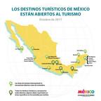 ¡Los destinos mexicanos están listos para recibirte!