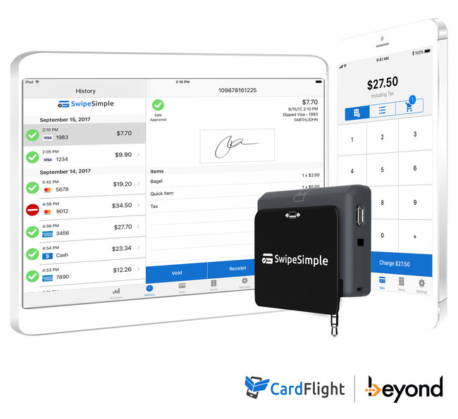 SwipeSimple mobile POS is built for merchants on-the-go
