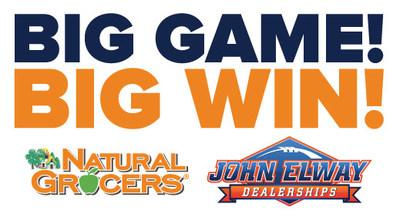 Big Game! Big Win! Logo (PRNewsfoto/Natural Grocers by Vitamin Cott)