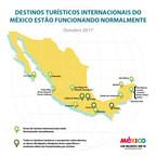 Destinos turísticos do México estão abertos e prontos para receber você