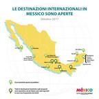 Le destinazioni del Messico sono aperte e pronte a darvi il benvenuto