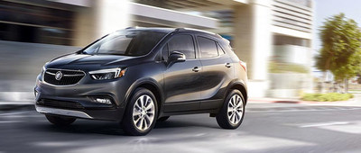 The 2017 Buick Encore has savings now at Palmen Auto Stores.