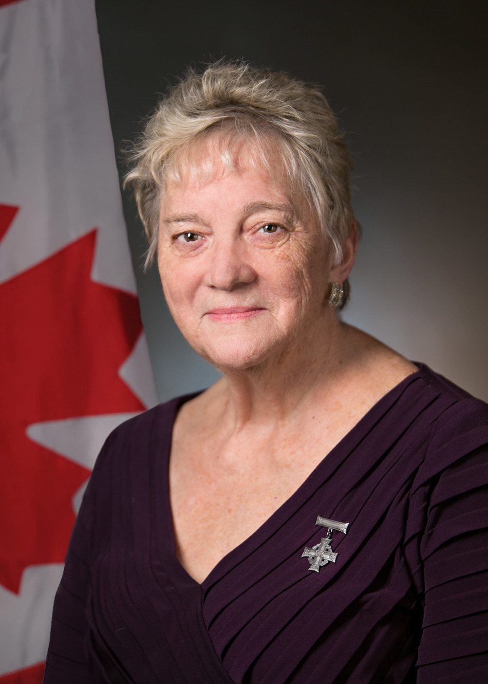 Diana Abel, National Silver Cross Mother 2017 (CNW Group/The Royal Canadian Legion Dominion Command)