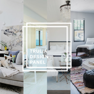 Trulia Design Panel to provide homeowners and renters with home décor advice. Photo credits from left to right: Hannah Crowell, Alexia Fodere, Daniel Cavazos/Moontower and Ashlee Raubach.
