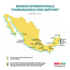 Die Reiseziele Mexikos sind bereit Sie zu empfangen