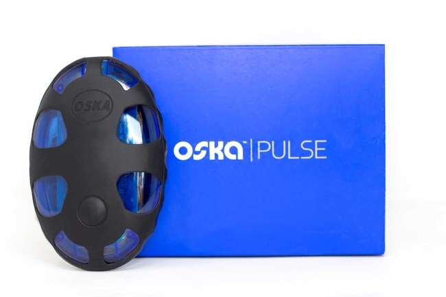 """Oska Pulse, Pain Relief Device. Won """"Startup of the Year"""" from Tech.Co/CTA"""