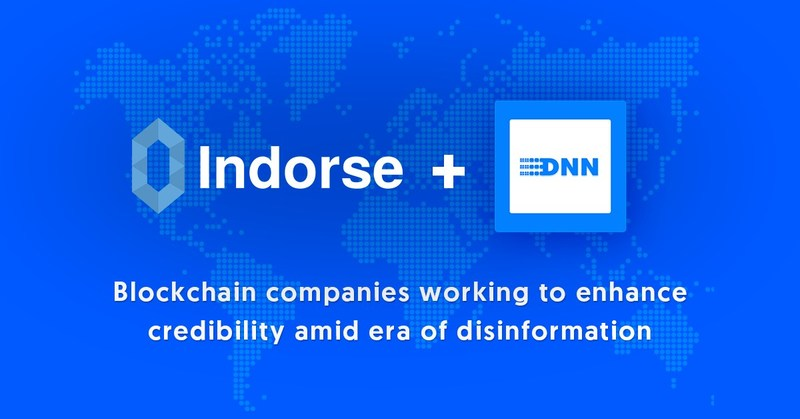 DNN Signs Partnership with Indorse, a Decentralized Network for Professionals (CNW Group/DNN)