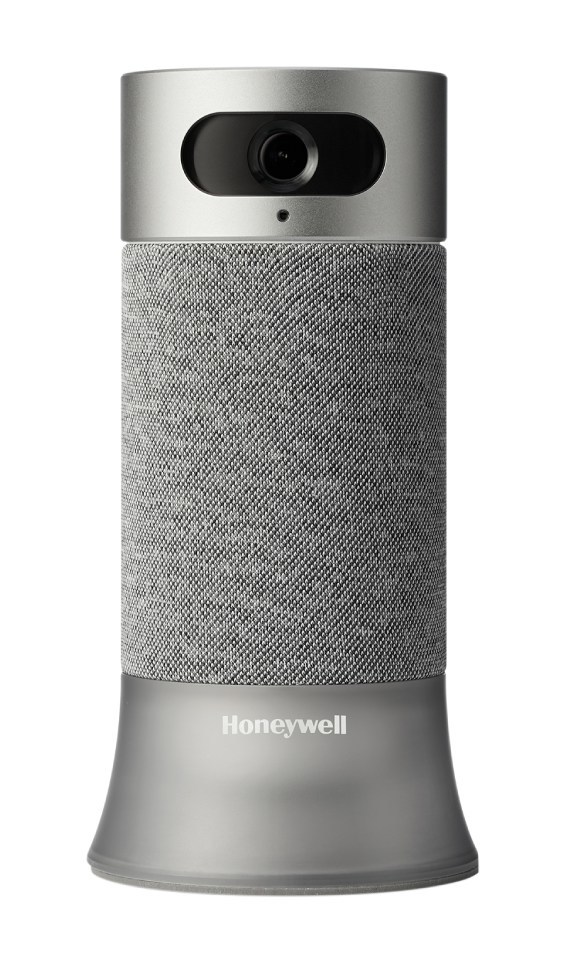 The Honeywell Smart Home Security System base station (PRNewsfoto/Honeywell Home and Building Tec)