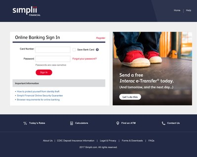 With Simplii Financial ™ clients bank online, via the Simplii mobile app or by phone (CNW Group/Simplii Financial)