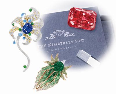 Jurassic Inc Debuts The 1 00 Carat Argyle Fancy Red Diamond 10 17 Akachen Art Jewellery