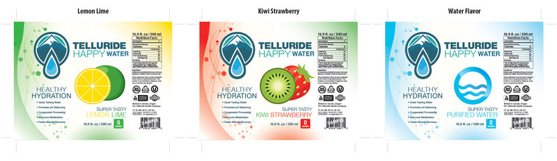 Telluride Happy Water – For Rocky Mountain Highs