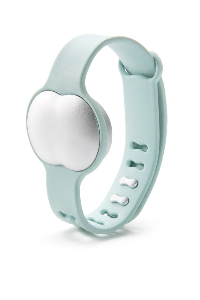 The Ava cycle-tracking bracelet identifies 5.3 fertile days in a woman's monthly cycle