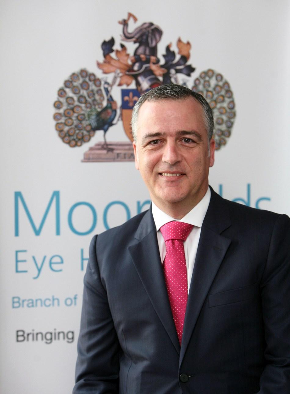Mariano Gonzalez, Managing Director, Moorfields Eye Hospital Dubai (PRNewsfoto/Moorfields Eye Hospital Dubai)