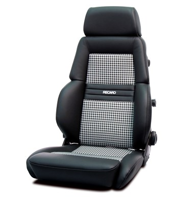 Paying homage to some of the world's great sports cars of the past: The RECARO Expert Houndstooth.