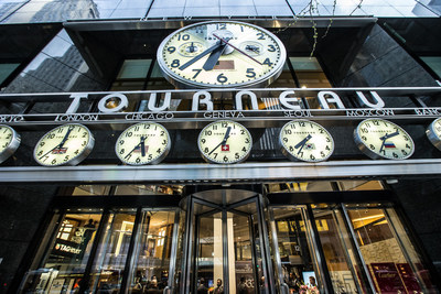 https://mma.prnewswire.com/media/595205/Tourneau_TimeMachine_57th_St_and_Madison_Avenue.jpg