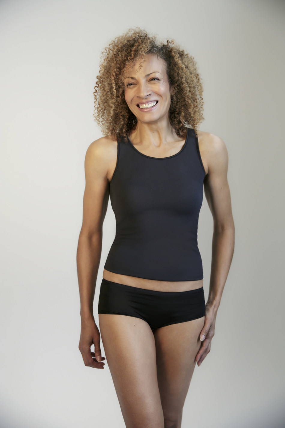 Anti-Flush Technology (TM) Tank and Pants in Black from Become. The range helps regulate temperature during a hot flush using innovative, patent-pending fabrics to keep the body cool and dry. From £19 from webecome.co.uk