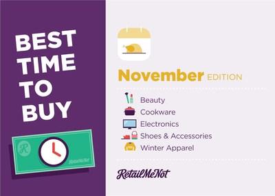 Best Things to Buy in November 2017