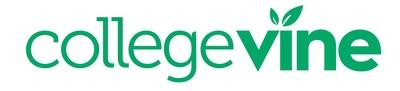 CollegeVine logo (PRNewsfoto/CollegeVine)