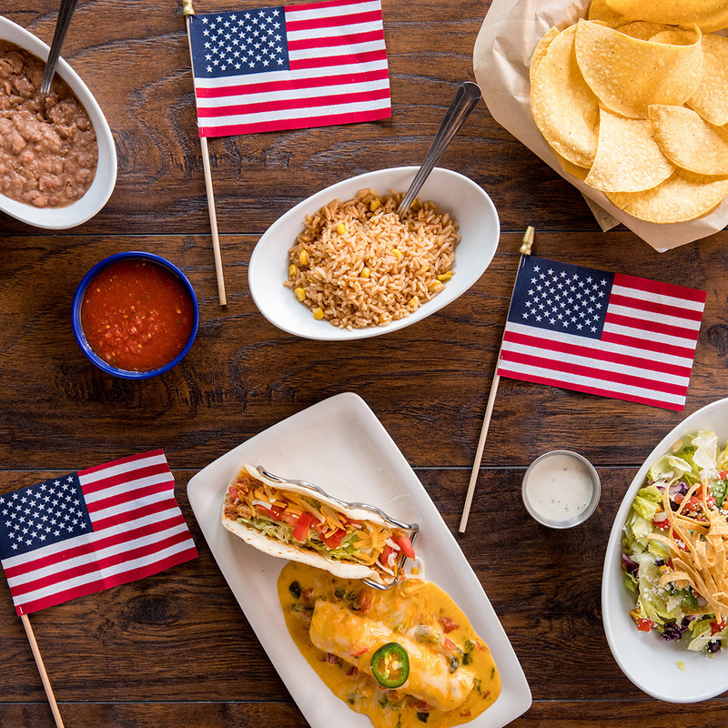 On The Border Mexican Grill & Cantina® is commemorating veterans and military families for its annual Veterans Day celebration on Sat., Nov. 11. Veterans and active military may enjoy a Free Create Your Own Combo with authentic Mexican flavors.