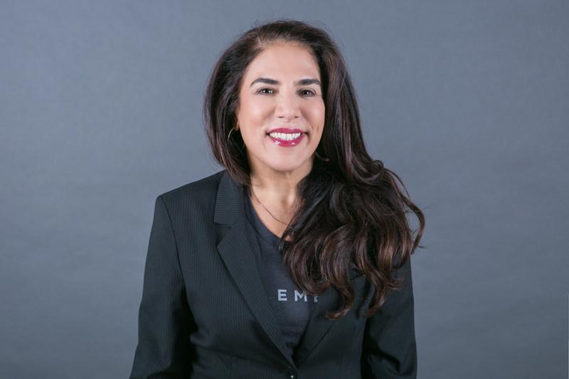 Linda Bernardi (Chef, Produits et stratégie chez Element AI) (Groupe CNW/Element AI)