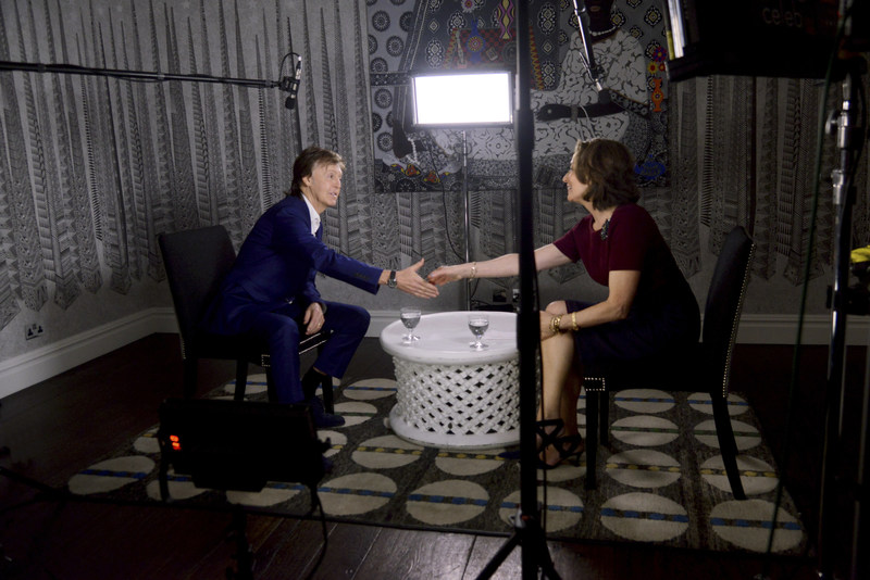 National Geographic Editor in Chief Susan Goldberg meets Paul McCartney in an exclusive conversation about his new film 'One Day a Week', part of his 'Meat Free Monday' campaign