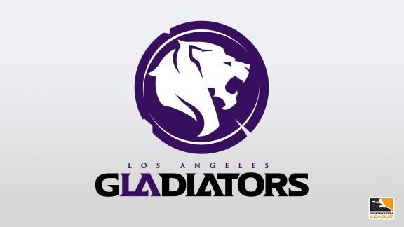 Los Angeles Gladiators logo (PRNewsfoto/Los Angeles Gladiators)