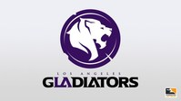 Los Angeles Gladiators logo (PRNewsfoto/Los Angeles Gladiators)