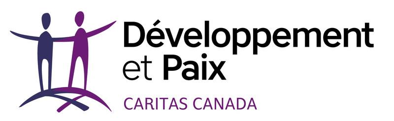 Logo : Développement et Paix - Caritas Canada (Groupe CNW/Développement et Paix)