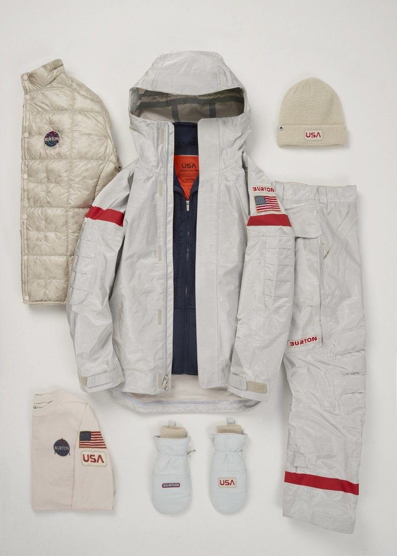 U.S. Snowboard Team Uniforms for PyeongChang Olympic Games 2018
