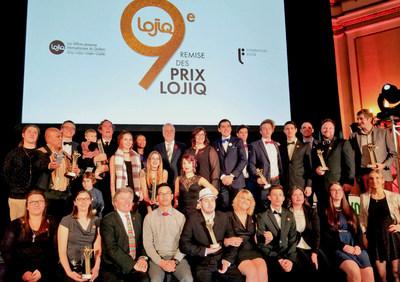 Une trentaine de jeunes Québécois honorés pour leur excellence et leur contribution au rayonnement du Québec à l'international (Groupe CNW/Les Offices jeunesse internationaux du Québec)