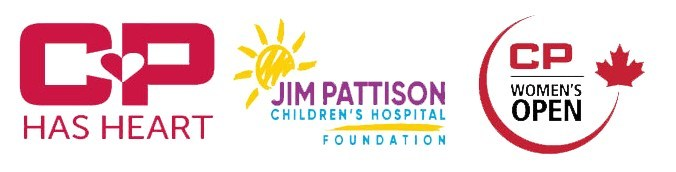 CP Has Heart, Jim Pattison Children's Hospital Foundation and CP Women's Open (CNW Group/Jim Pattison Children's Hospital Foundation)