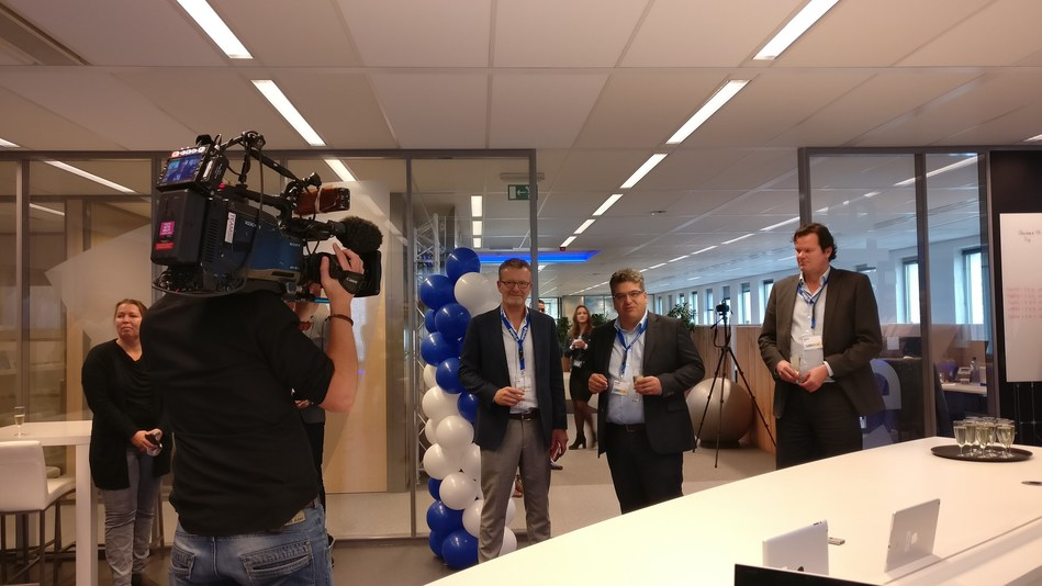 Divitel opens Europe's first automated TV and Video application lifecycle testlab in Apeldoorn, NL (PRNewsfoto/Divitel)