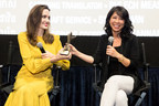 Angelina Jolie and Loung Ung Accept The 'Rising Star' Award on Behalf of Sreymoch Sareum From