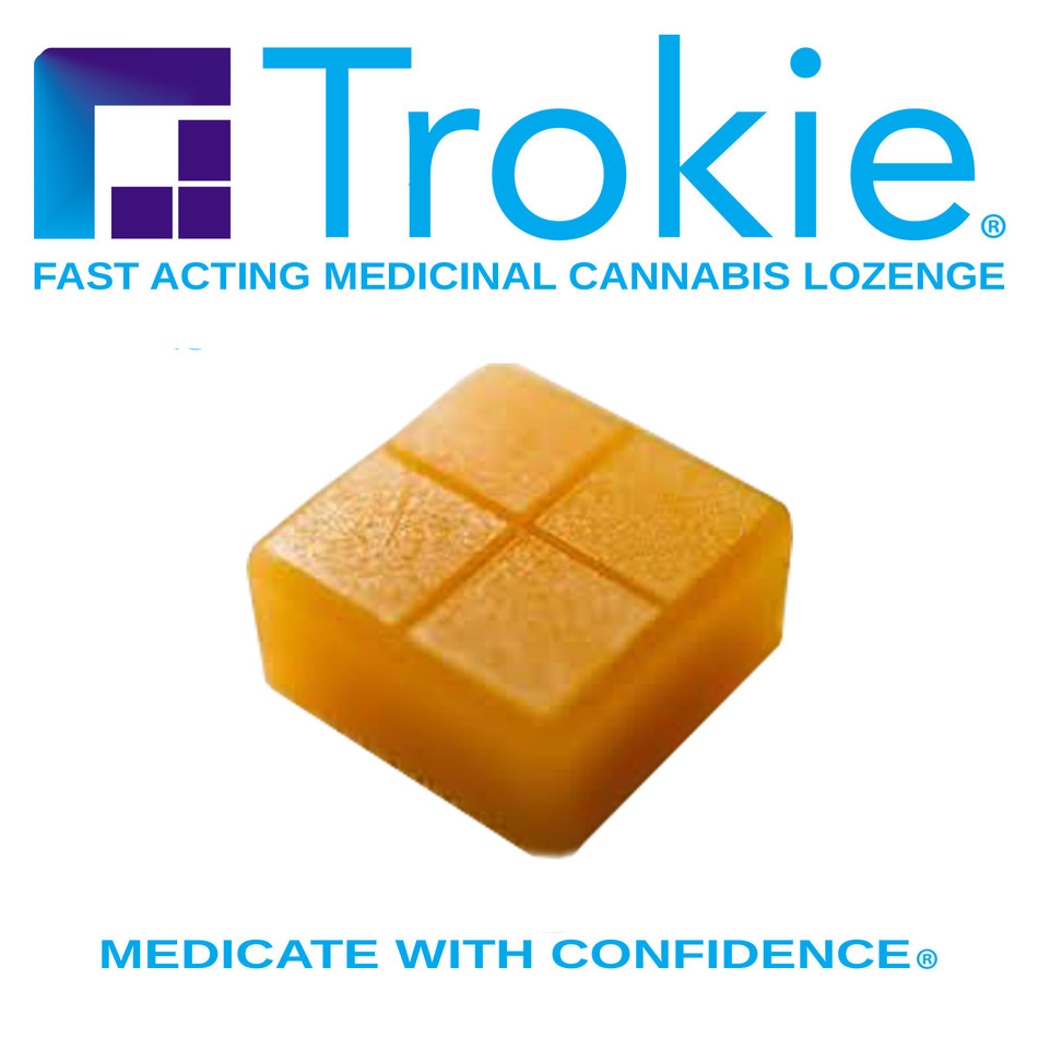 Trokie is a cannabis lozenge developed to deliver a reliable and consistent dose of medical cannabis to its users (CNW Group/Canopy Growth Corporation)