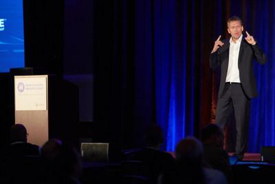 Keynote Speaker NXP's Lars Reger explored MEMS and sensors relative to automotive mega-trends.