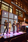 Pentatonix delivers show-stopping performance to celebrate the unveiling of Hudson's Bay and Saks Fifth Avenue 2017 Holiday Windows (CNW Group/Hudson's Bay)