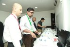 Simulator training at FIAGES, Gurgaon (PRNewsfoto/Paras Healthcare Pvt. Ltd (Paras)